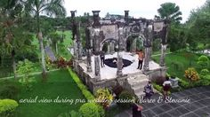 Prawedding with Drone in Bali