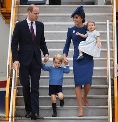A Very Warm Welcome for the Cambridges as Canada Tour Begins