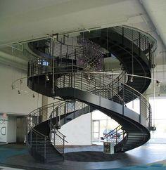 big spiral stair - Google Search