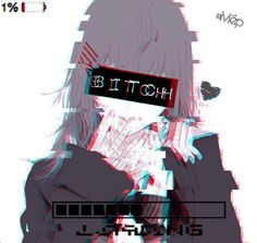 Emo Anime Girl, Anime Neko, Anime Eyes, Kawaii Anime Girl, Dark Anime, Pac E Mike, Anime Tumblr, Gothic Anime, Digital Art Girl