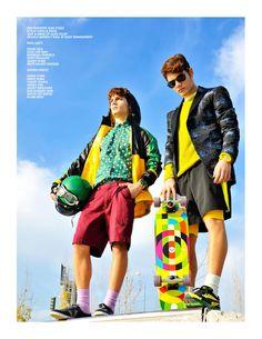 Raúl and Hayden Guerra styled by david & sofía for Carbon Copy # 13