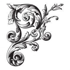 Filagree Tattoo, Baroque Tattoo, Swirl Tattoo, Leg Tattoos, Body Art Tattoos, Small Tattoos, Tattoos For Guys, Sleeve Tattoos, Baroque Frame