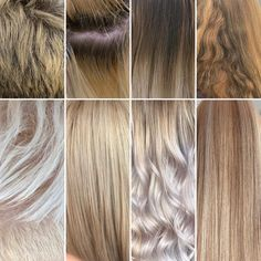 Lovely selection of blondes. Ash Blonde, Blonde Hair, Behind The Chair, Blondes, Salons, Hair Color, Long Hair Styles, Beauty, Lounges