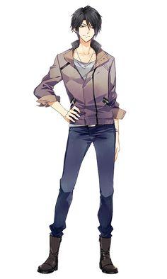 Anime fashion model