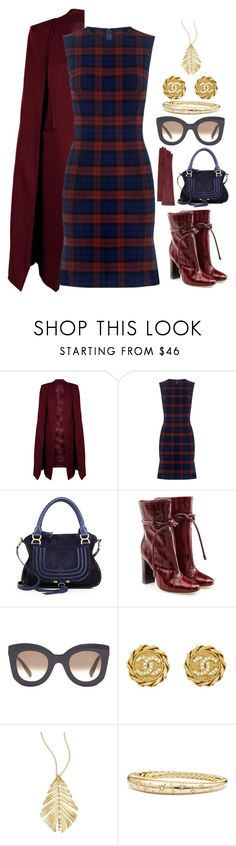 """Looks for fall"" by colonae ❤ liked on Polyvore featuring WithChic, 10 Crosby Derek Lam, Chloé, Malone Souliers, CÉLINE, Chanel, Hueb, David Yurman and Guanti Giglio Fiorentino"