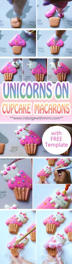 Learn how to pipe this cute unicorn character and prepare several different colored batters using Mimi's Best Macaron Recipe.
