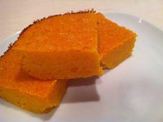 Butternut Squash Souffle squares