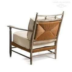 Newport Rush Outdoor Lounge Chair from my buddy, Charles Fradin's new collection. Hope it will grace my porch sometime in the near future!