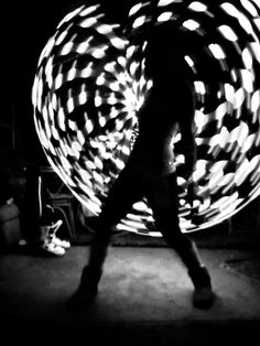 lights and motion. #hulahoop #hooping #fitness more on: weightedhulahoopworkout.com