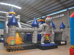 Knight theme funland #inflatablefunland #knight #funland