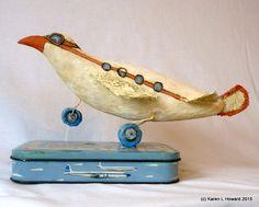 By Karen L Howard Bird? Plane? - LOOK! Up In The Sky! It's a Bird! It's a Plane! It's Super! Original Carving