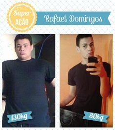 Superação Rafael Domingos - Blog da Mimis - Querem emagrecer? Vejam o que o Rafa fez para perder 50Kg em APENAS 9 meses!