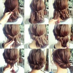 Imagen de hairstyle, hair, and diy
