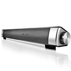 Sound Bar, ELEGIANT Wireless Computer Speakers Stereo Wireless Sound Bar Speaker