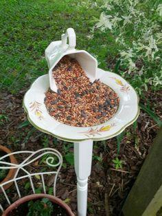 Teacup Bird Feeders Instructions