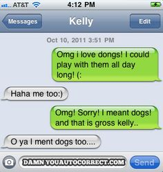 funny auto-correct texts - Never Gets Old