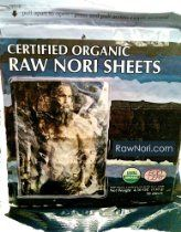 Sushi Nori, Raw Untoasted (50 Sheets), Organic, 4.6 oz. //  Description Why is Maine Coast Sea Vegetables Selling Certified Organic Chinese Nori?Ever since we began harvesting indigenous seaweeds in 1971, our friends and customers have been asking for a good, clean nori sheet. First we tried making a rough and tough sheet from our local porphyra species. Then we invested in a sheet making machine// read more >>> http://Estela628.iigogogo.tk/detail3.php?a=B004NR6HKS