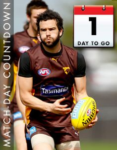 1 day to go. - Official AFL Website of the Hawthorn Football Club Oh My Love, 1 Day, Hawks, Football, Club, Website, Soccer, Futbol, American Football