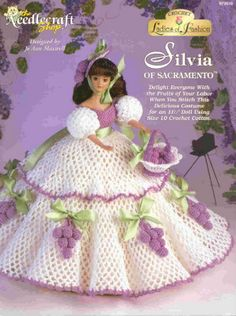 Barbie Crochet: Silvia of Sacramento - Pattern: http://knits4kids.com/collection-en/library/album-view?aid=10712