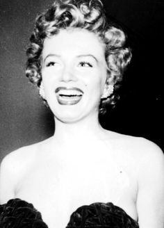 Marilyn Monroe at the Henrietta Awards, February 8th 1952.