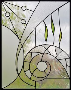 Custom stained glass Modern custom made stained glass in Quebec