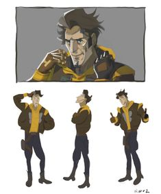 Borderlands Series, Tales From The Borderlands, Handsome Jack, Concept Art, Video Games, Kitty, December 25, Anime, Shots