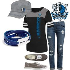 Going to run some errands? Need something casual to wear? Sport our very own Dallas Mavericks Mavsgear hat & t-shirt wherever you go!