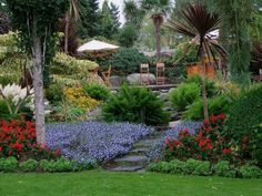 Garden of Eden in Norway Garden Of Eden, Garden Art, Home And Garden, Garden Ideas, Garden Bedroom, Topiary Garden, Wonderful Picture, Outdoor Entertaining, Beautiful Gardens