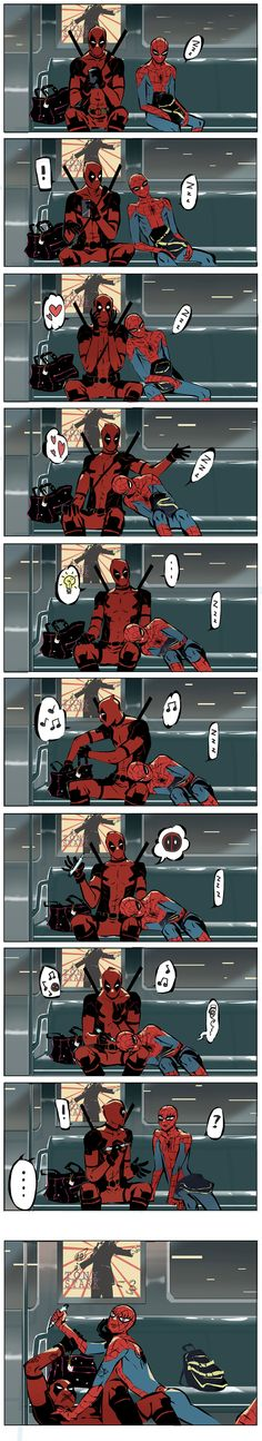 spideypool by huandual on DeviantArt