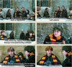 Fred And George Weasley Quotes, I was sooooo sad not to see this in the movie :,(