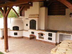 Kemencés konyha a terasz előtt   KÁLYHAKUCKÓ