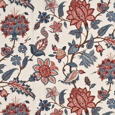 404 Error Alexander Interiors,Designer Fabric, Wallpaper and Home decor goods Pink Beige, Textile Prints, Floral Prints, Textiles, Mulberry Home, New York, Chintz Fabric, Fabric Houses, Drapery Fabric