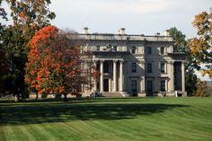 Vanderbilt Mansion National Historic Site • Hyde Park, New York. Cancellation stamp: December 28, 1986