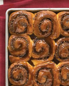 An easy recipe for warm, buttery rolls is reinvented into super cinnamon buns…