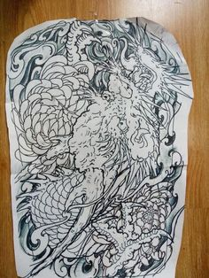 New Tattoos, Tattoos For Guys, Koi Tattoo Sleeve, Japanese Tattoo Art, Oriental Tattoo, Tattoo Stencils, Asian Art, Tattoo Inspiration, Tattoo Designs