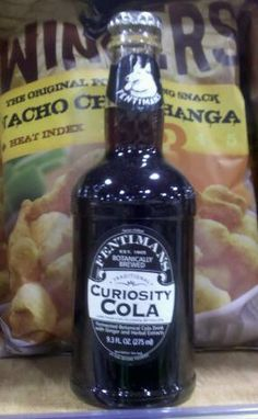 """For awhile we avoided trying Fentimans sodas because they say """"Less than alcohol by volume. Fentimans, Curiosity, Alcohol, Pop, Sodas, Rubbing Alcohol, Liquor, Popular, Pop Music"""