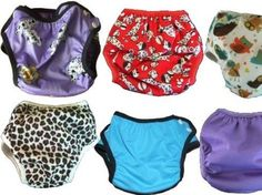 Cloth swim nappies for disabled children