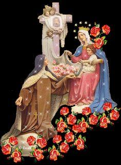 IMAGENES RELIGIOSAS: STA. TERESITA DEL NIÑO JESUS