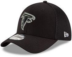 64309bf08 New Era Atlanta Falcons Black White Neo Mb 39THIRTY Cap