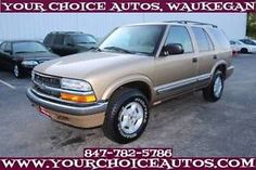 2000 Chevrolet Blazer LS 4dr 4WD SUV SUV 4-Door Automatic 4-Speed V6 4.3 - item…