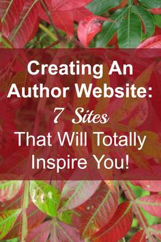 Beyond Your Blog has identified 7 fabulous author sites that we hope inspire you! You'll see that the selections are not all necessarily the ones with the most bells and whistles, rather the ones that are clean, easy to navigate, and stand out with special touches.
