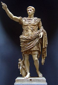Augustus at the Vatican Museum, Vatican City, Italy
