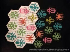 Homemaker Hobbies: Hive Review  board games, crafts, game review, games, Hive, homemade, nerdcraft, perler beads, review