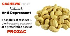 Cashew Nutrition: Absolute the Best Treatment for Depression without Medication - Healthy Food House
