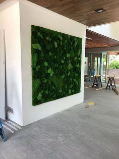 21+ Interesting Interior Moss Wall Design Ideas #PlantedDesign #MossWall #MossWalls #MossBoss #CustomDesign #MossBoss #SmallBusinessWeek #WomanOwnedBusiness #Gusto #PlantWall #PlantPowered #SustainableLiving #HousePlants #ReconnectWithNature #OfficePlants #GreenSpacesInUrbanPlaces #supportsmallbusinesses Ed Design, Wall Design, Design Ideas, Stone Panels, Moss Wall, Office Plants, Reception Areas, Cafe Interior, Plant Wall