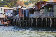 Los palafitos de Pedro Montt Castro (Chiloé, Chile) #sinbadtrips | Sinbad