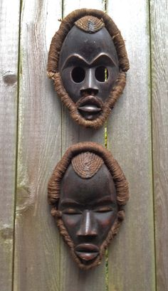 AFRICA,DAN,MASK,WOOD,Passport,SHELLS, FABRIC, ROPE HAIR, IVORY COAST,