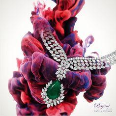 #beganijewels #begani_jewels #jewellery #jewels #jewelrygram #instajewelry #instajewelry #investment #fashion #fashionjewellery #neckpiece #necklace #design #designer #cute #style #love #emerald #accessories #brilliance