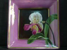 Vide-poche orchidée