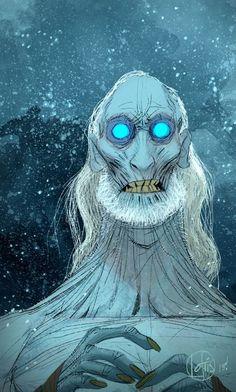 """White """"spooky"""" walker"""